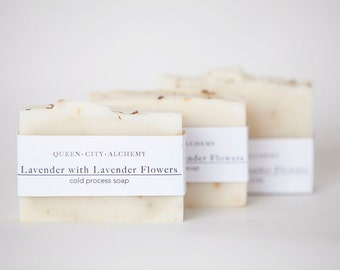 Lavender Cold-Process Soap   Handmade All Natural Soap