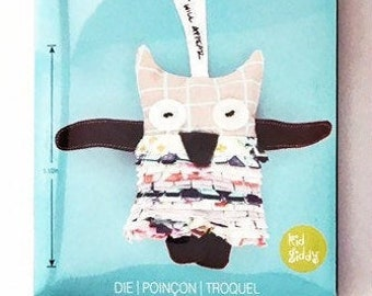 Kid Giddy Sizzix Owl Die - Make Your Own Owl Stuffed Animal