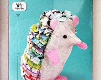 Kid Giddy Sizzix Hedgehog Die - Make Your Own Hedgehog Stuffed Animal