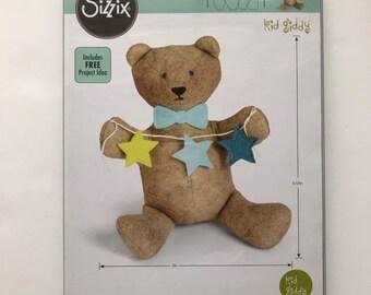 Kid Giddy Sizzix Bear Cub Die