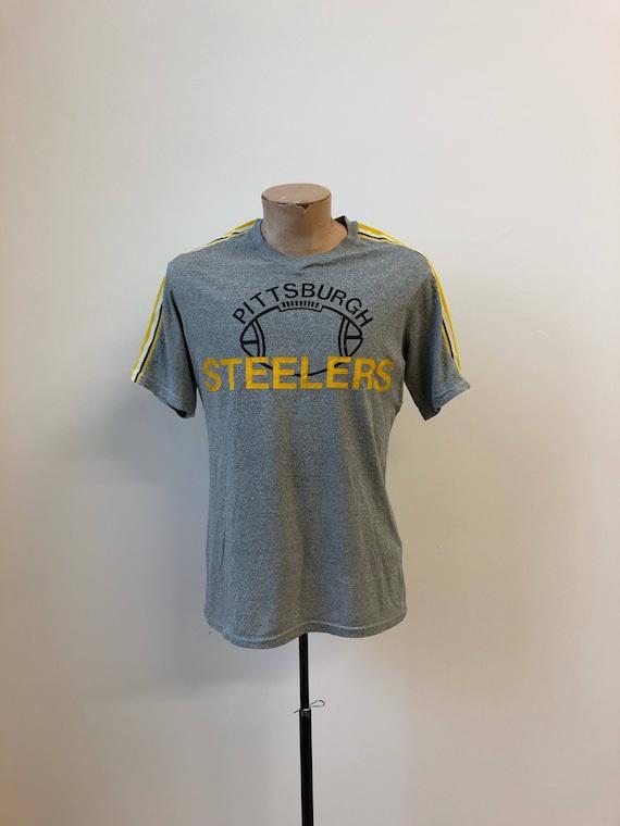 Vintage Steelers Tshirt   1980s Pittsburgh Steelers Tee    75999f3ef