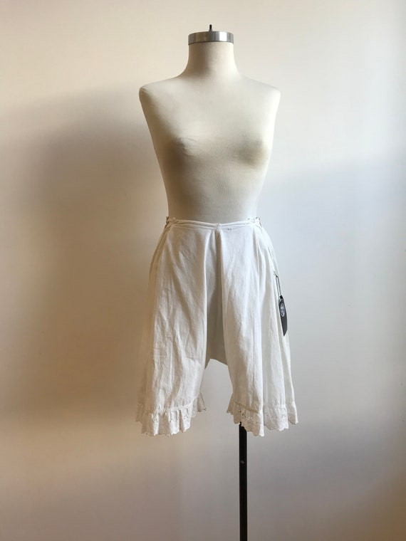 Antique Cotton Bloomers / Vintage Cotton Bloomers… - image 2