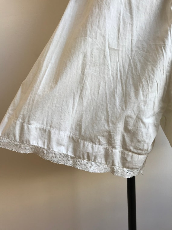 Antique Cotton Bloomers / Vintage Cotton Bloomers… - image 8