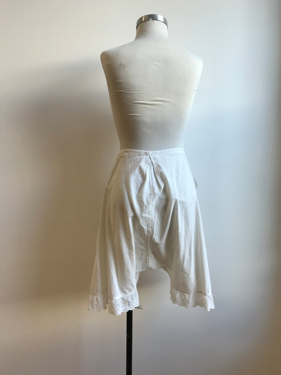 Antique Cotton Bloomers / Vintage Cotton Bloomers… - image 10