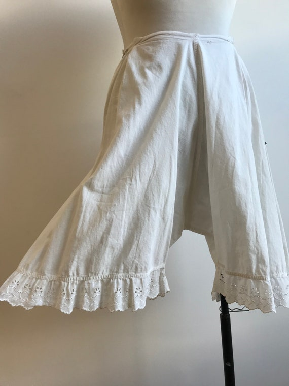 Antique Cotton Bloomers / Vintage Cotton Bloomers… - image 6