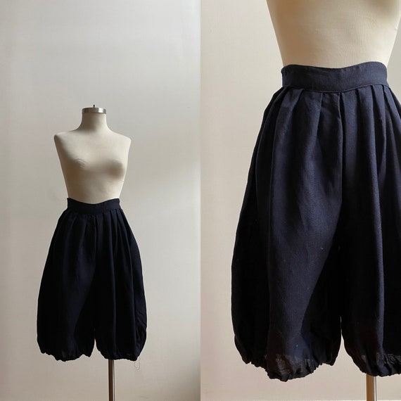Vintage Gym Uniform / Vintage 1930s Wool Trousers