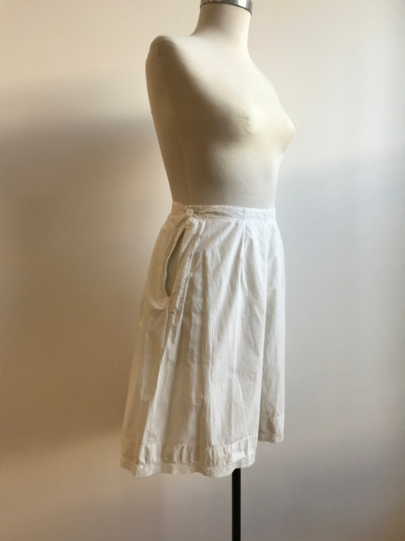 Antique Cotton Bloomers / Vintage Cotton Bloomers… - image 3