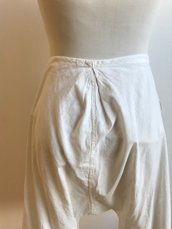 Antique Cotton Bloomers / Vintage Cotton Bloomers… - image 7