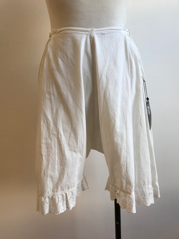 Antique Cotton Bloomers / Vintage Cotton Bloomers… - image 4