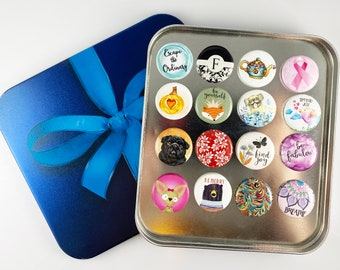 Special Holiday Offer - Choose Your Own Set of Magnets 16, 20, 24 or 28 Magnets in a Set