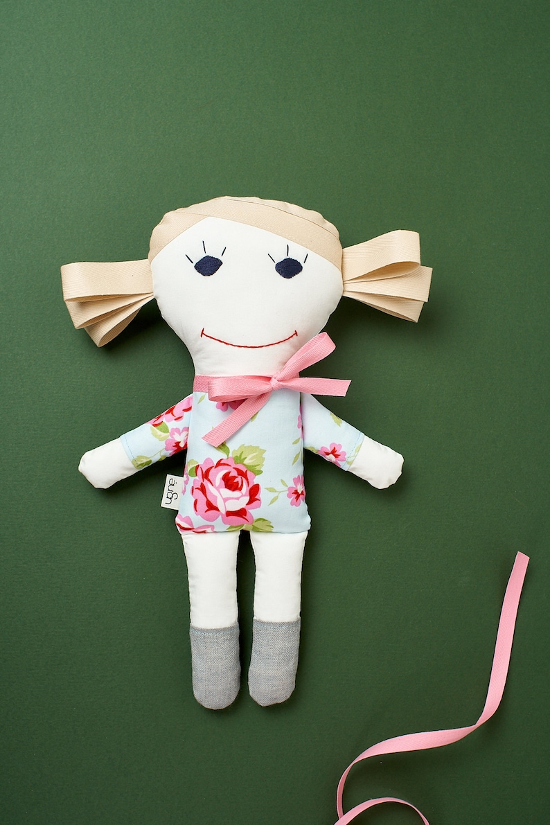 Personalized Doll / Handmade Toy / Plush Sewing / Gift for a image 0