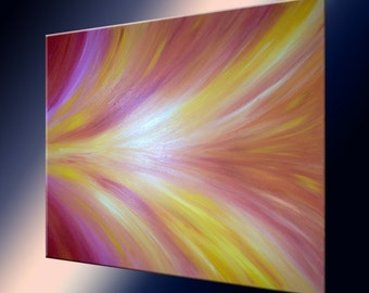 Abstract Red Original Painting Sale , Fathers Day Gift, Valentines Day Sale