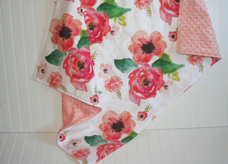 Bebe Fille Couette Couette Bebe Bebe Floral Couette Etsy
