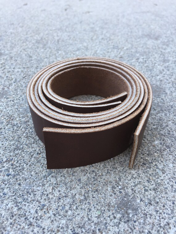 aaf4739343d9 Set of 2 Smooth Brown Leather Straps Purse Straps Bag   Etsy