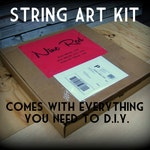 Pick a Pattern Kit - DIY String Art - All supplies included!
