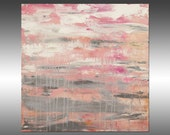 Lithosphere 178 - PAINTING PRINT - Stretched Canvas, Gallery Quality Giclee Print of Gorgeous Original Painting by Hilary Winfield