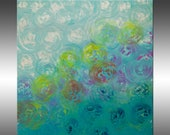 Synchronicity 14 - PAINTING PRINT - Stretched Canvas, Gallery Quality Giclee Print of Gorgeous Original Painting by Hilary Winfield