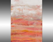 Lithosphere 180  - PAINTING PRINT - Stretched Canvas, Gallery Quality Giclee Print of Gorgeous Original Painting by Hilary Winfield