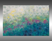 Synchronicity 11 - PAINTING PRINT - Stretched Canvas, Gallery Quality Giclee Print of Gorgeous Original Painting by Hilary Winfield