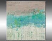 Lithosphere 137 - PAINTING PRINT - Stretched Canvas, Gallery Quality Giclee Print of Gorgeous Original Painting by Hilary Winfield