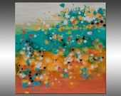 Stratosphere 4 - PAINTING PRINT - Stretched Canvas, Gallery Quality Giclee Print of Gorgeous Original Painting by Hilary Winfield