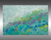 Synchronicity 12 - PAINTING PRINT - Stretched Canvas, Gallery Quality Giclee Print of Gorgeous Original Painting by Hilary Winfield