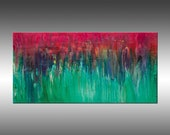 Cascading - PAINTING PRINT - Gallery Quality Giclee Print of Gorgeous Original Painting by Hilary Winfield