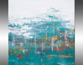 Ascension 13 - PAINTING PRINT - Stretched Canvas, Gallery Quality Giclee Print of Gorgeous Original Painting by Hilary Winfield