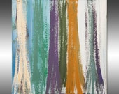 Birch Trees 2 - PAINTING PRINT - Stretched Canvas, Gallery Quality Giclee Print of Gorgeous Original Painting by Hilary Winfield