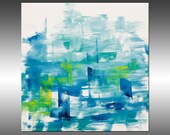 Fragment  - PAINTING PRINT - Stretched Canvas, Gallery Quality Giclee Print of Gorgeous Original Painting by Hilary Winfield