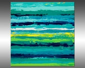 Reclaimed 4 - PAINTING PRINT - Stretched Canvas, Gallery Quality Giclee Print of Gorgeous Original Painting by Hilary Winfield