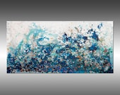 Liquid Energy 24 - PAINTING PRINT - Gallery Quality Giclee Print of Gorgeous Original Painting by Hilary Winfield