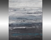 Modern Industrial 26 - PAINTING PRINT - Stretched Canvas, Gallery Quality Giclee Print of Gorgeous Original Painting by Hilary Winfield