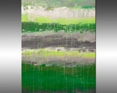 Lithosphere 114 - PAINTING PRINT - Stretched Canvas, Gallery Quality Giclee Print of Gorgeous Original Painting by Hilary Winfield