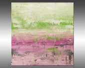 Modern Industrial 28 - PAINTING PRINT - Stretched Canvas, Gallery Quality Giclee Print of Gorgeous Original Painting by Hilary Winfield