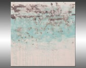 Lithosphere 159 - PAINTING PRINT - Stretched Canvas, Gallery Quality Giclee Print of Gorgeous Original Painting by Hilary Winfield