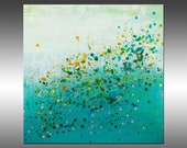 Gravity - PAINTING PRINT - Stretched Canvas, Gallery Quality Giclee Print of Gorgeous Original Painting by Hilary Winfield
