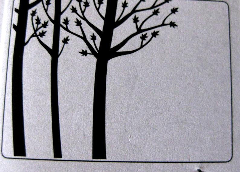Trees Embossing Folder
