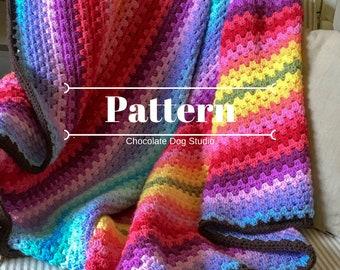 Crochet Afghan Patterns Etsy