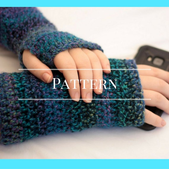 Fingerless Gloves Crochet Pattern Easy Crochet Pattern