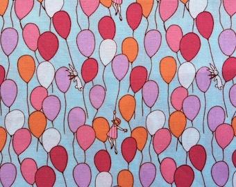 SALE.  1 YARD. Michael Miller - Sarah Jane - Children At Play- Balloons
