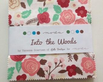 Into the woods Charm Pack by Vanessa Goertzen