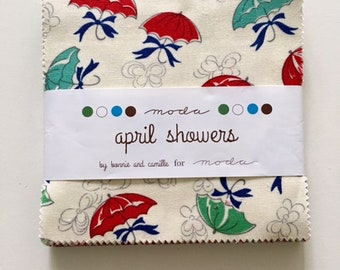 April Showers  Charm Pack by Bonnie and Camille for Moda