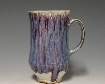 Handmade wheel thrown ceramic mug #1129