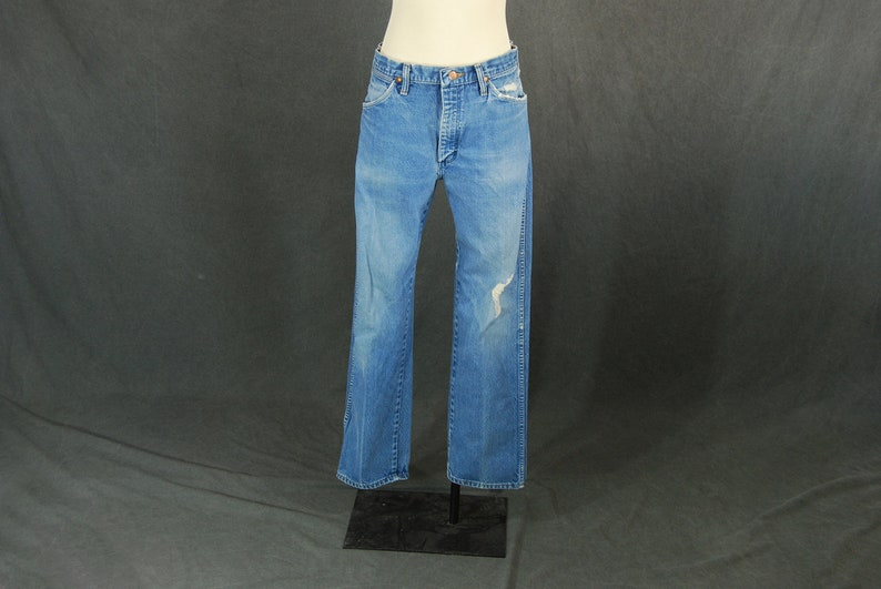 71037ea1 Vintage 80s Wrangler Jeans 1980s Faded Broken In Boyfriend | Etsy