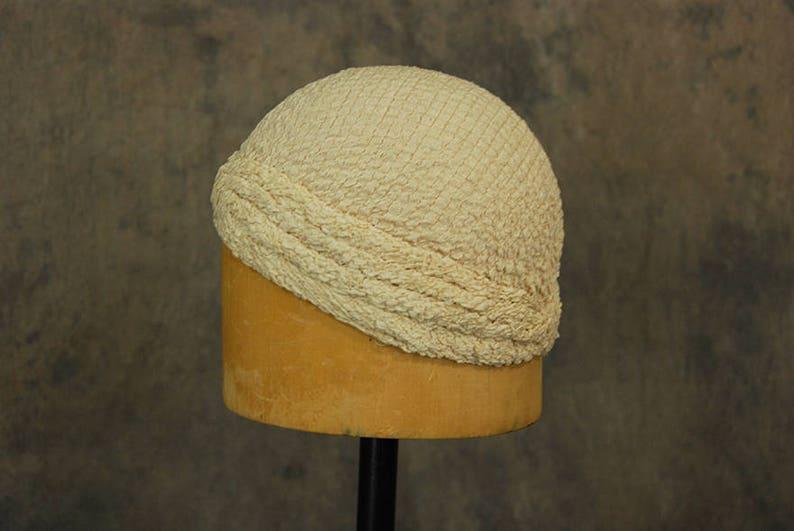 ArDeco Vintage Turban Chapeau Turban Chapeau Femmes Wrap Tricot Turban Pliss/é