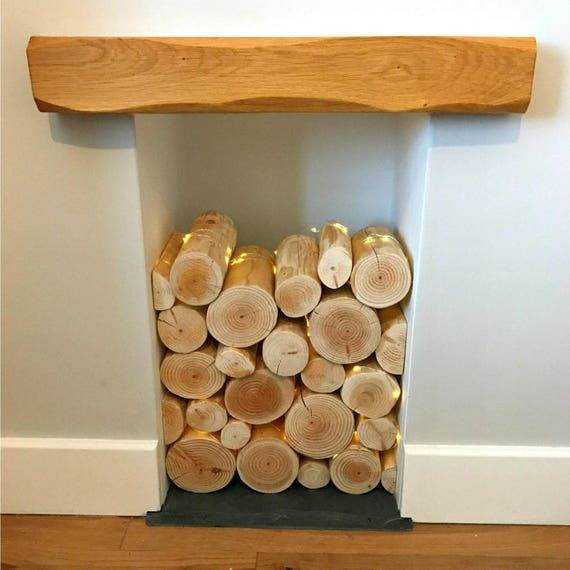 Decorative Logs For Feature Displays In Empty Fireplaces Etsy