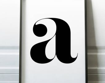 "Printable ""Letter A"" 