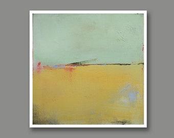 Abstract Landscape Print on Paper, Large Paper Print, Minimal, Minimalist Art, Neutral Art Wall Decor, Landscape Art