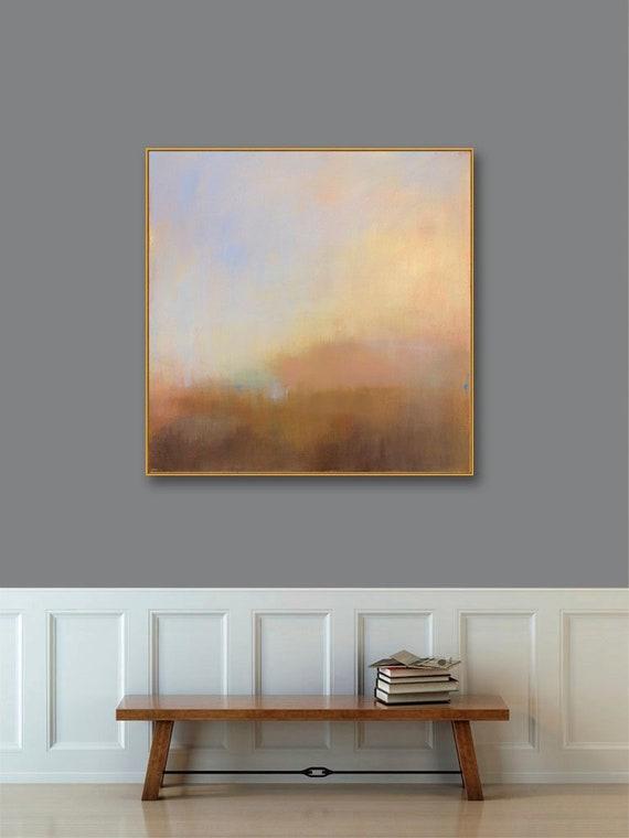 1f4ecc835c5 Large Framed Wall Art Large Gold Framed Abstract Landscape